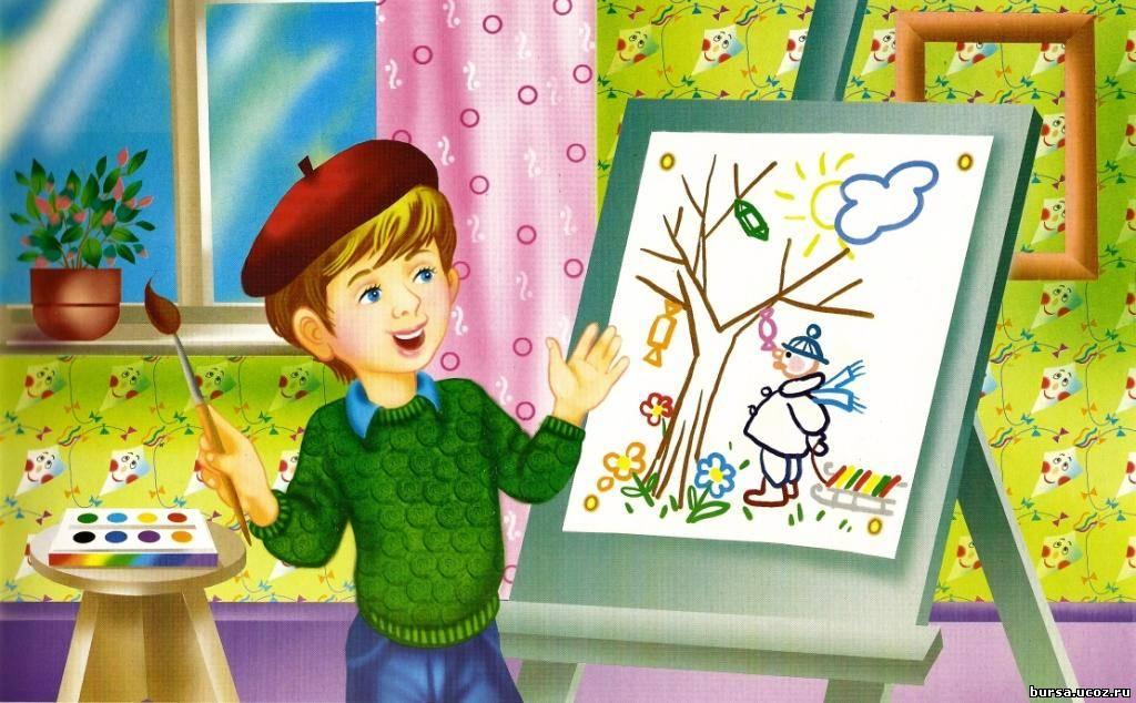 Английский язык в картинках на разные темы для детей и
